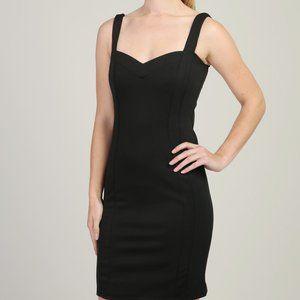Guilty black sweetheart bodycon little black dress